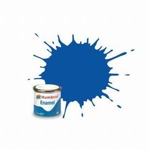 14 Humbrol enamel 14ml. Frensh blue 14