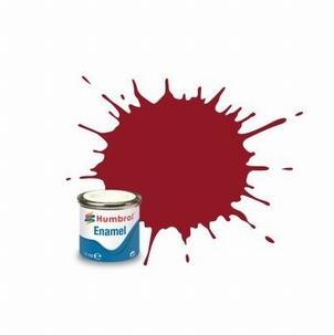 20 Humbrol enamel 14ml. Crimson red 20