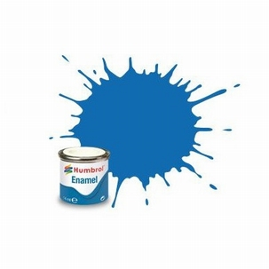 52 Humbrol enamel 14ml. Baltic blue 52