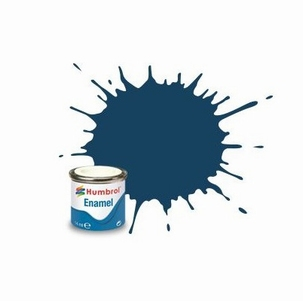 104 Humbrol enamel 14ml. Oxford blue 104