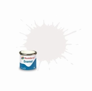 130 Humbrol enamel 14ml. White 130