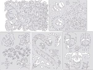 Artool Curse Of Skull Master Set of 5