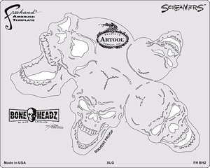 Boneheadz Mike Lavallee SCREAMERS set 4st