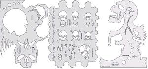 Artool Skull Master Set of All Three