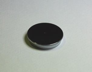 Cup deksel 5ml. Chrome