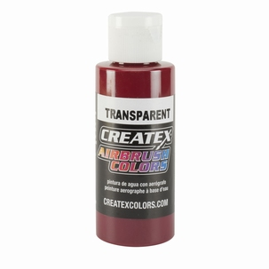 Createx Classic Transparant  Deep Red
