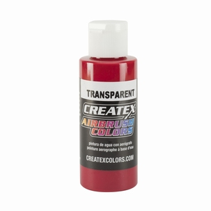 Createx Classic Transparant  Carmin Red