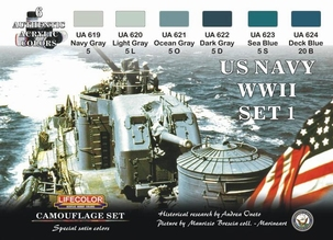 Camouflage set US Navy set1