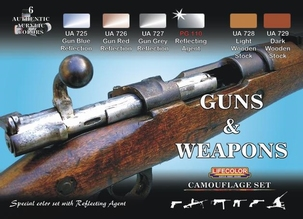 Camouflage set Guns and Weapons Color set