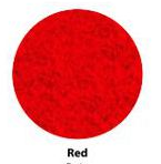 Flock Folie Bright Red