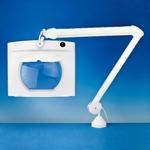 Lightcraft Rectangular long Reach Magnifier Lamp