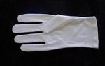 Wit Katoenen Handschoen