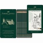 Faber Castell 9000 Grafietpotloden Set 12st.