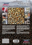 Step By Step Stencil Leopard
