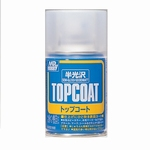 Mr. Hobby Mr. Topcoat Semi-Gloss