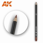 AK10013 Dark Rust Weathering Pencil