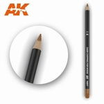 AK10017 Dark Chipping for Wood Weathering Pencil