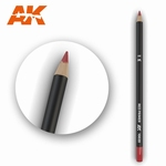 AK10020 Red Primer Weathering Pencil