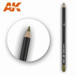 AK10006 Olive Green Weathering Pencil