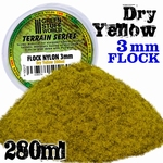 GSW Static Grass Flock Dry Yellow 3mm