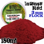 GSW Static Grass Flock Intense Red 3mm.