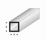 Buisprofiel vierkant A=6mm   B=8mm