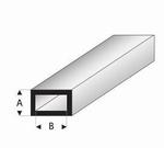 Buisprofiel plat A=3mm   B=6mm