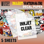 GS Waterslide Decal Inktjet Transparant