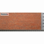 032LD122 Brick Plain Bond (Polychrome)