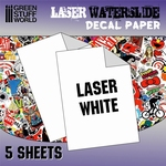 GS Waterslide Decal Laser Wit