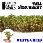 GSW Tall Shruberry White Green