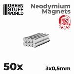 GSW Neodymium Magnets 3x0'5mm