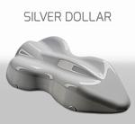 Custom Creative Base Metallic Silver Dollar