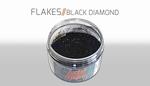 Custom Creative Flake Black Diamond