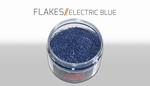 Custom Creative Flake Electric Blue