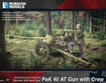 280059 - Pak 40 AT Gun with Crew