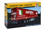 Italeri Curtainside Trailer