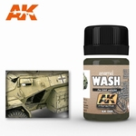AK Enamel Africa Corps Wash