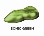 Custom Creative Pearl Basecoat Sonic Green