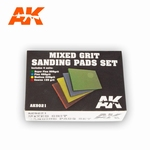 AK Mixed Grit Sanding Pads