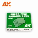 AK Super Fine Sanding Pads 800 Grit