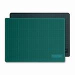 Snijmat Groen/Zwart 22x30cm
