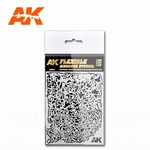AK Flexible Airbrush Stencil 1/20 1/24 /1/35