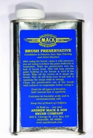 Mack Brush Preservative Oil