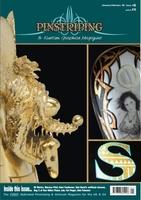Pinstriping & Kustom Graphics Magazine Nr. 6