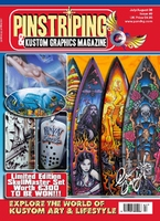 Pinstriping & Kustom Graphics Magazine Nr. 9