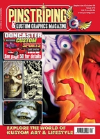 Pinstriping & Kustom Graphics Magazine Nr. 10