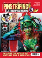 Pinstriping & Kustom Graphics Magazine Nr. 13