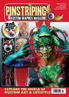 Pinstriping & Kustom Graphics Magazine Nr. 13