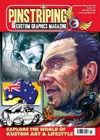 Pinstriping & Kustom Graphics Magazine Nr. 17